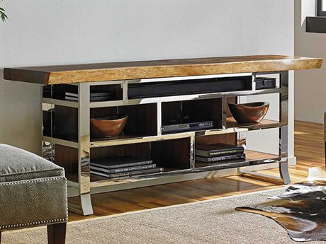 Sligh Studio Designs 78 x 30 Katara Live Edge Media Console  TV Stand