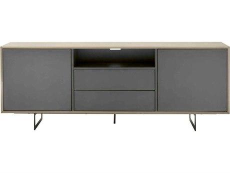 Star International Furniture Seasons Lagos Mocha High Gloss 79'' x 18'' Buffet