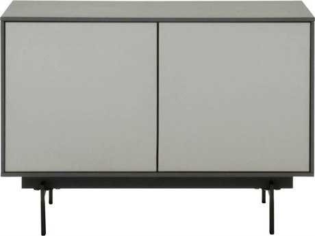 Star International Furniture Seasons Symphony Matte Grey and Light Grey / Black 31.5'' x 18'' TV Stand