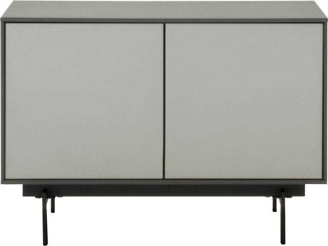Star International Furniture Seasons Symphony Matte Grey and Light Grey / Black 31.5'' x 18'' TV Stand