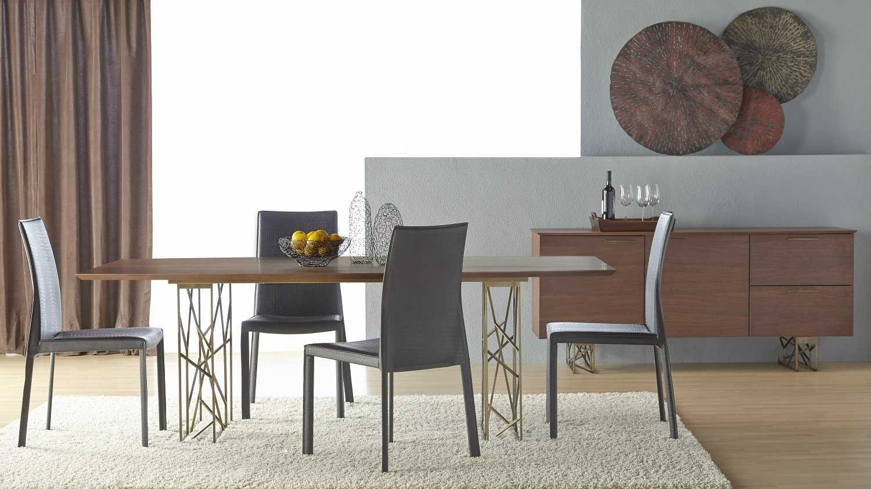 Star International Furniture Cleo Oro Dark Walnut