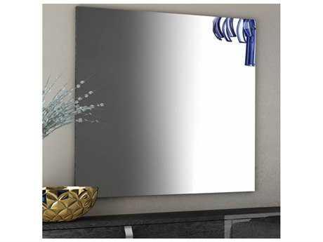 Star International Furniture Vivente Noble Grey Birch 37.5'' x 40'' Wall Mirror