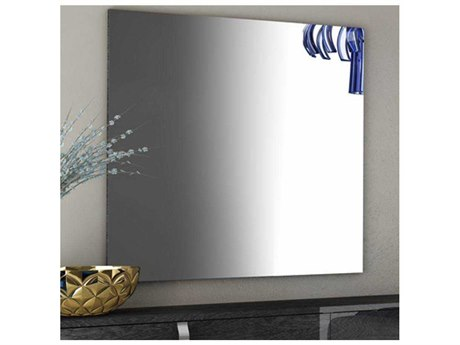 Star International Furniture Vivente Noble Grey Birch 37.5'' x 40'' Wall Mirror