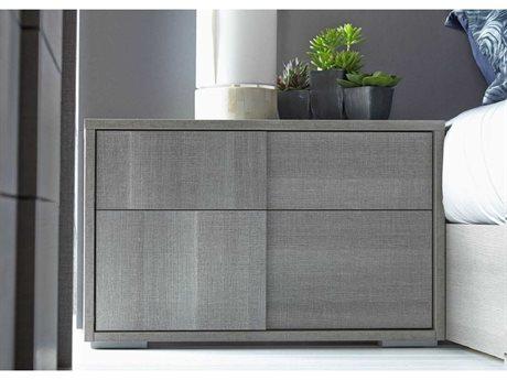 Star International Furniture Vivente Forte Matte Grey Oak Eco Veneer 27.5'' x 15.5'' Nightstand