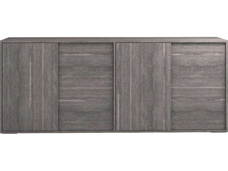 Star International Furniture Vivente Forte Matte Grey 79'' x 19'' Buffet