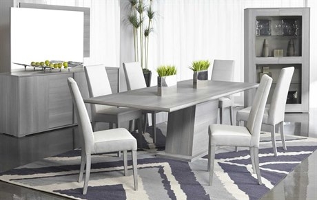 Furniture Vivente Forte Dining Room Set SIF2185EXDTMGOSET1