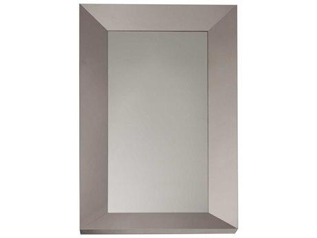 Star International Furniture Xena Glam Stainless Steel Frame 39.5'' x 79'' Wall Mirror