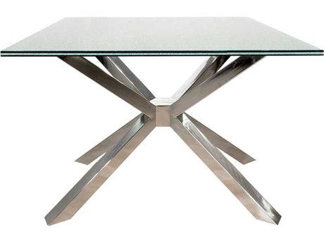 Star International Furniture Ritz Mantis Stainless Steel 27.5'' x 27.5'' End Table Base
