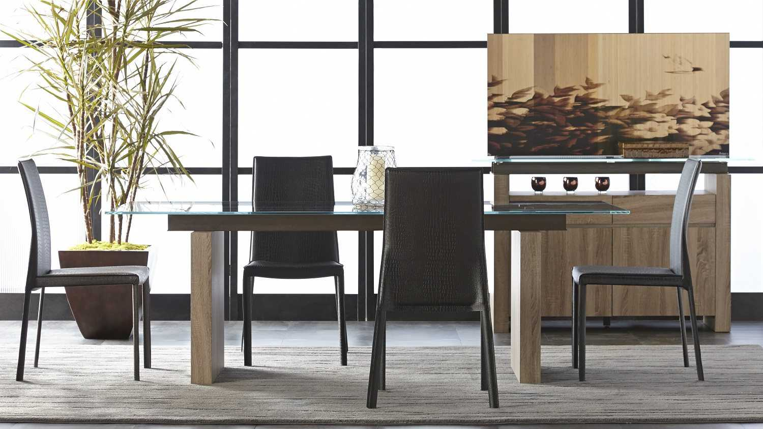 Star Furniture Dining Table: Star International Furniture Ritz Trave Tempered Super