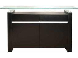 Star International Furniture Ritz Tiffany Dark Walnut Acrylic Lacquer 49.5'' x 18'' Buffet Base