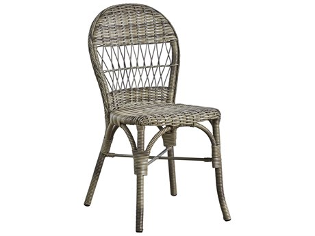 Sika Design Georgia Garden Antique Aluminum Wicker Dining Chair
