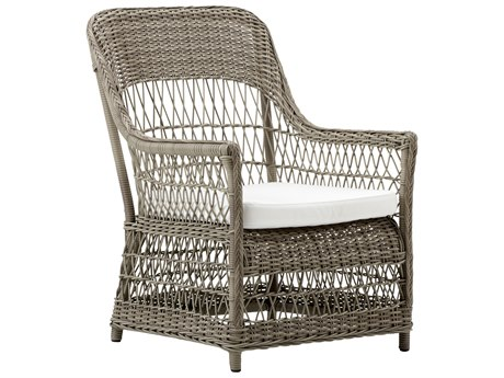 Sika Design Georgia Garden Wicker Antique Cushion Dawn Lounge Chair PatioLiving
