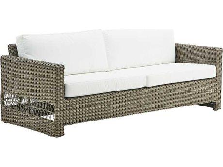 Sika Design Georgia Garden Antique Aluminum Cushion Sofa