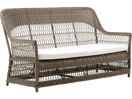 Sika Design Georgia Garden Antique Aluminum Cushion Sofa