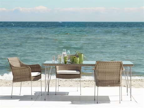 Sika Design Avantgarde Steel Dining Set PatioLiving