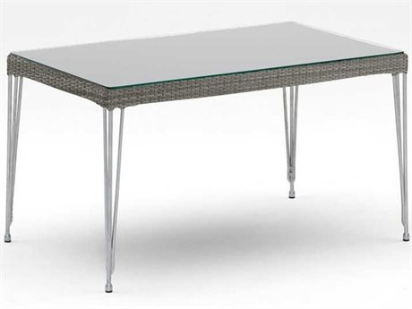 Sika Design Avantgarde 39'' Wide Steel Rectangular Coffee Table