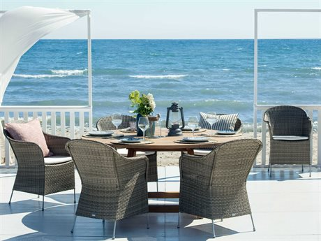 Sika Design Teak George Dining Set PatioLiving