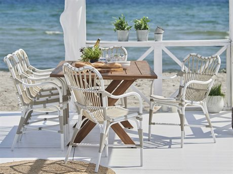 Sika Design Teak Colonial Dining Set PatioLiving