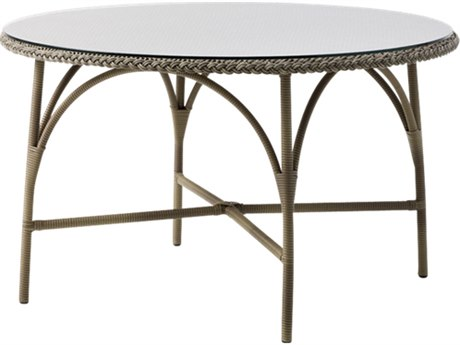 Sika Design Georgia Garden 47'' Wide Aluminum Round Dining Table