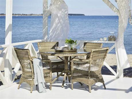 Sika Design Georgia Garden Aluminum Dining Set PatioLiving