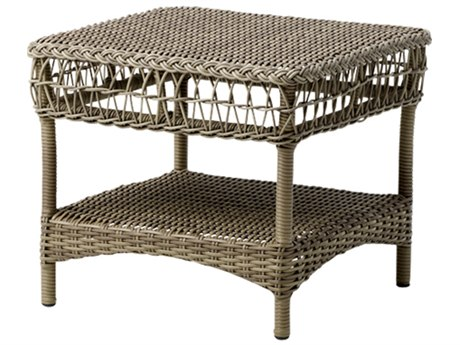 Sika Design Georgia Garden 18'' Wide Aluminum Square End Table
