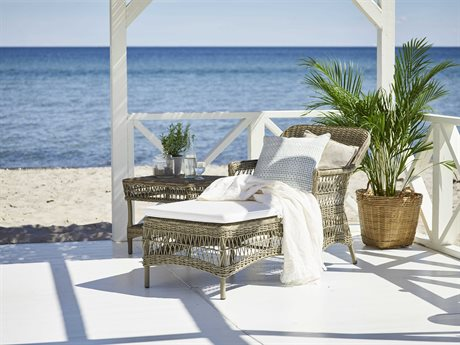 Sika Design Georgia Garden Wicker Antique Cushion Olivia Lounge Set PatioLiving