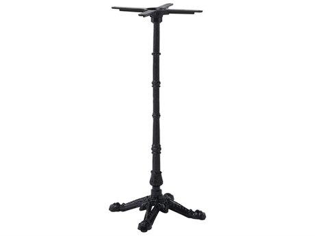 Sika Design Alu Affaire Cast Iron Black 4 Prong Bar Table Base