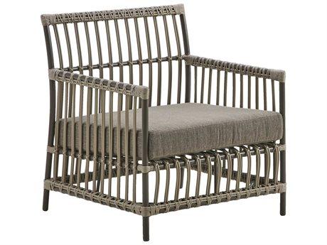 Sika Design Exterior Aluminum Moccachino Cushion Caroline Lounge Chair