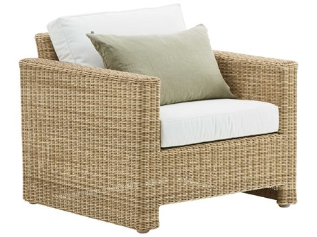Sika Design Exterio Natural Aluminum Cushion Lounge Chair