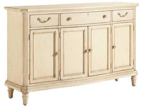 Stanley Furniture European Cottage Vintage White 68'' x 20'' Rectangular Buffet