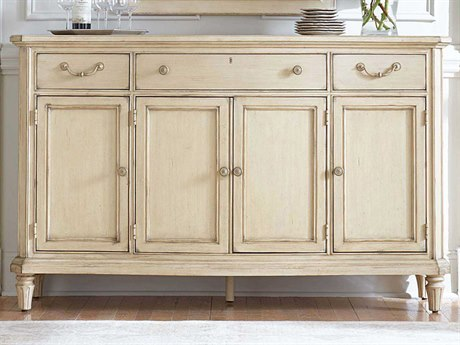 Stanley Furniture European Cottage Vintage White 68'' x 20'' Rectangular Buffet