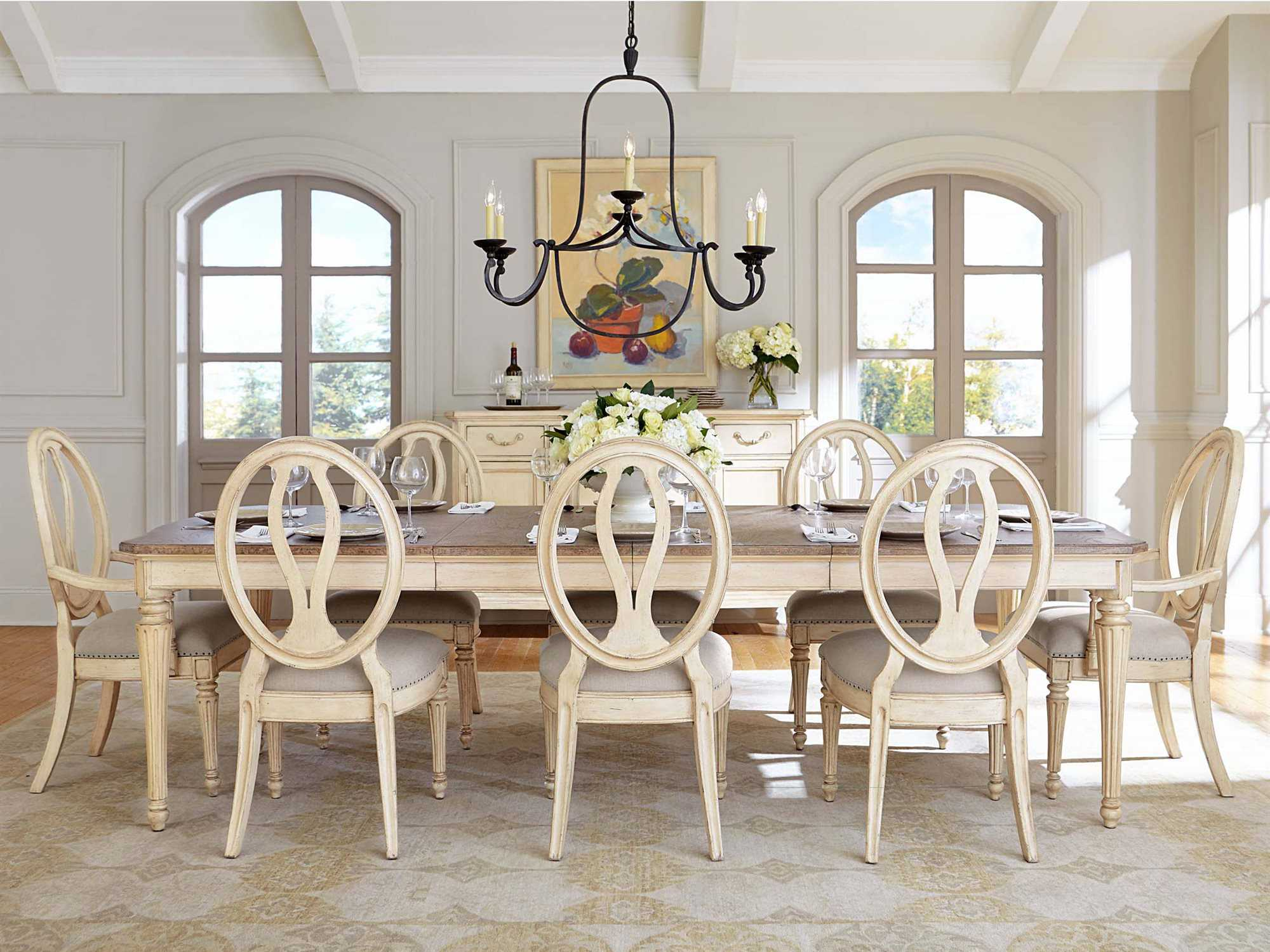 stanley dining room furniture | Stanley Furniture European Cottage Dining Set | SL0072136SET
