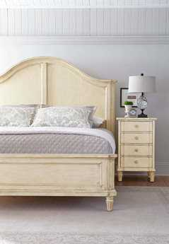 Stanley Furniture European Cottage Casual Panel Bed Bedroom Set