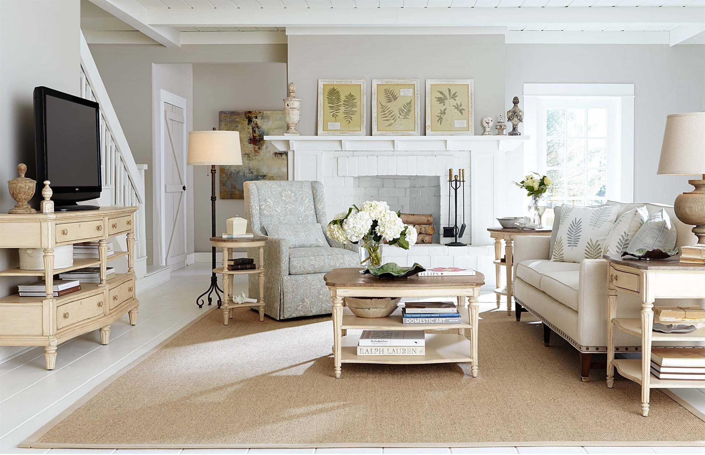 Stanley Furniture European Cottage Living Room Set Sl0072502set