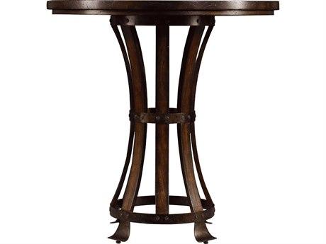 Stanley Furniture European Farmhouse Terrain 42'' Round Winemaker's Tasting Table