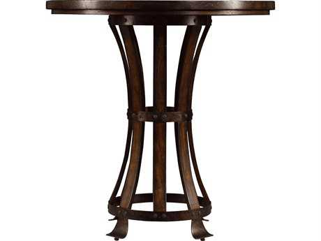 Stanley Furniture European Farmhouse Terrain 42'' Round Winemaker's Tasting Table