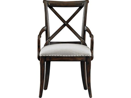 Stanley Furniture European Farmhouse Terrain Fairleigh Fields Host Dining Arm Chair