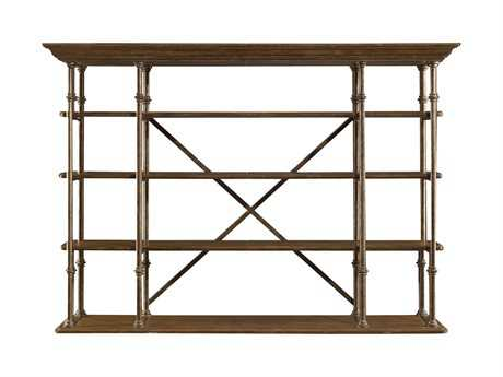 Stanley Furniture European Farmhouse Blond 79'' x 19'' L'Acrobat Open Air Shelf