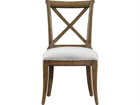 Stanley Furniture European Farmhouse Blond Fairleigh Fields Guest Dining Side Chair