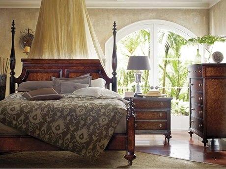 Stanley Furniture British Colonial Bedroom Set