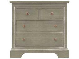 Stanley Furniture Transitional Estonian Grey Bachelor's Chest