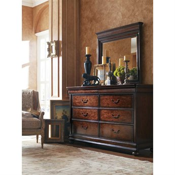 Stanley Furniture Louis Philippe Orleans Double Dresser