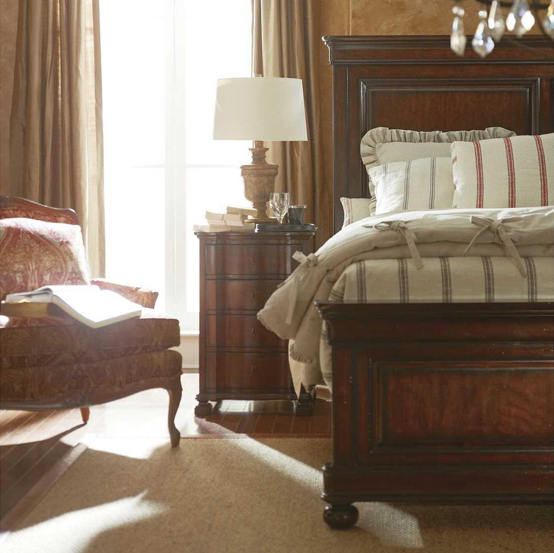 Stanley furniture louis philippe bedroom set sl0581340set2 - Louis philippe bedroom collection ...