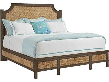 Stanley Furniture Coastal Living Resort Channel Marker Water Meadow Woven Queen Panel Bed