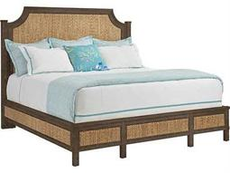 Stanley Furniture Coastal Living Resort Channel Marker Water Meadow Woven King Panel Bed