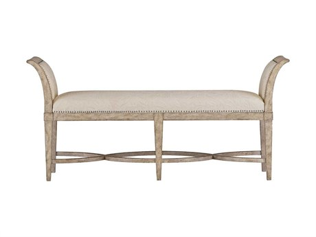 Stanley Furniture Coastal Living Resort Sandy Linen Surfside Bed End Bench