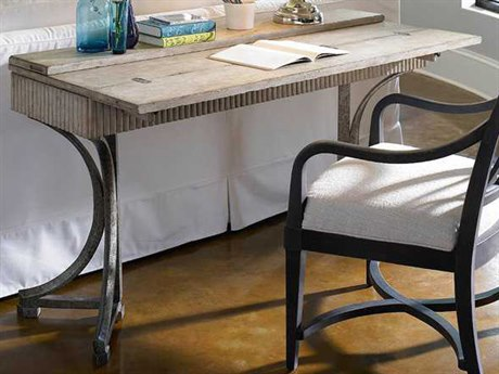 Stanley Furniture Coastal Living Resort Sandy Linen 57'' x 17'' Rectangular Curl Tide Flip Top Table
