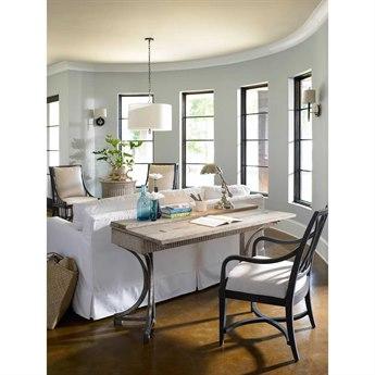 Stanley Furniture Coastal Living Resort Sandy Linen 57'' x 17'' Rectangular Curl Tide Flip Top Table
