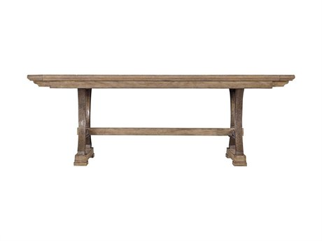 Stanley Furniture Coastal Living Resort Weathered Pier 86'' x 46'' Rectangular Shelter Bay Dining Table