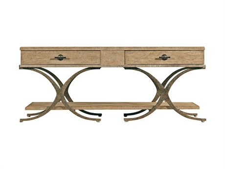 Stanley Furniture Coastal Living Resort Weathered Pier 52'' x 28'' Rectangular Windward Dune Cocktail Table